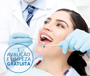 Limpeza odontológica gratuita